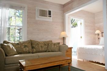 Garden Studio suite at Island City House Hotel.