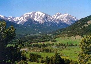 Taylor Fork Valley at Nine Quarter Circle Ranch