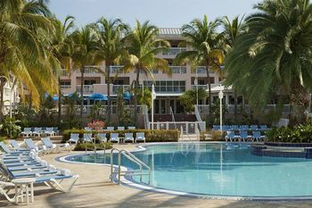 Exterior view of Doubletree Grand Key Resort.