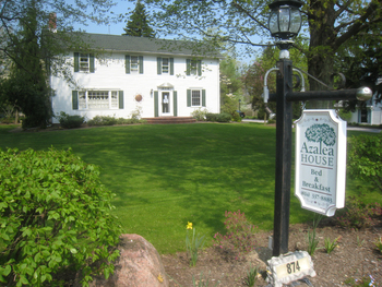 Exterior view of Azalea House B & B.
