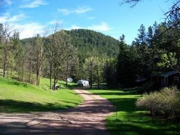 Beautiful Scenery at Backroads Inn & Cabins
