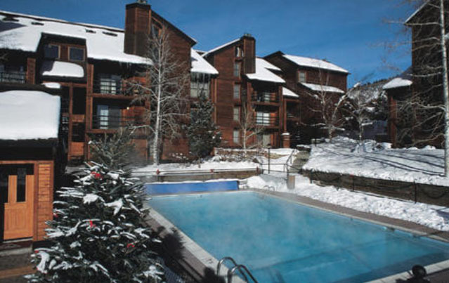 Outdoor Pool at Timber Run Condominiums