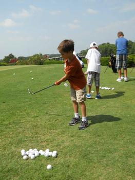Golf Camp at Tanglewood Resort