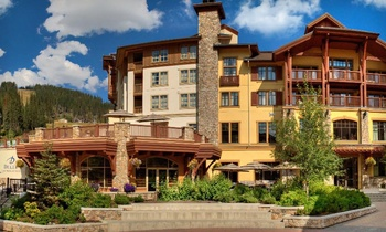 Exterior view of Delta Sun Peaks Resort.