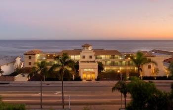 Exterior view of Malibu Beach Inn.