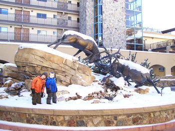 Family at Antlers At Vail.