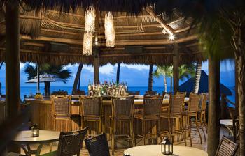 Tiki bar at Cheeca Lodge & Spa.