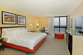 Guest room at Bahia Mar Beach Resort & Yachting Center.
