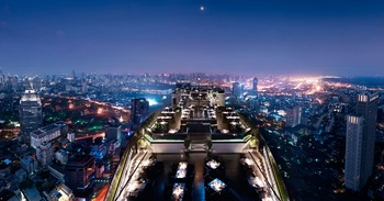 View from Banyan Tree Bangkok.