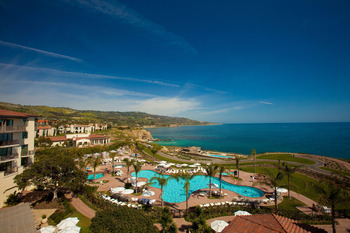 Exterior view of Terranea Resort.