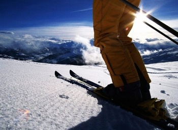 Skiing near Year In & Yearout Management.