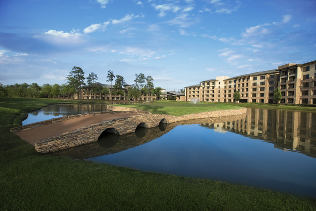Exterior view of The Woodlands Resort and Conference Center.