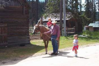 Horseback Riding at Silver Spur Outfitters