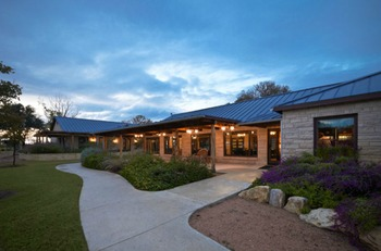 Exterior view of Purple Sage Ranch.