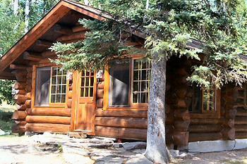 Red Pine Cabin at Lodge of Whispering Pines.