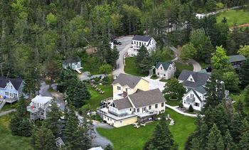 Aerial View of Oceanstone Seaside Resort