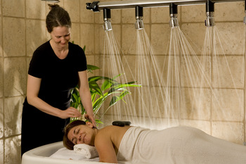 August Moon Spa at La Tourelle Resort & Spa.