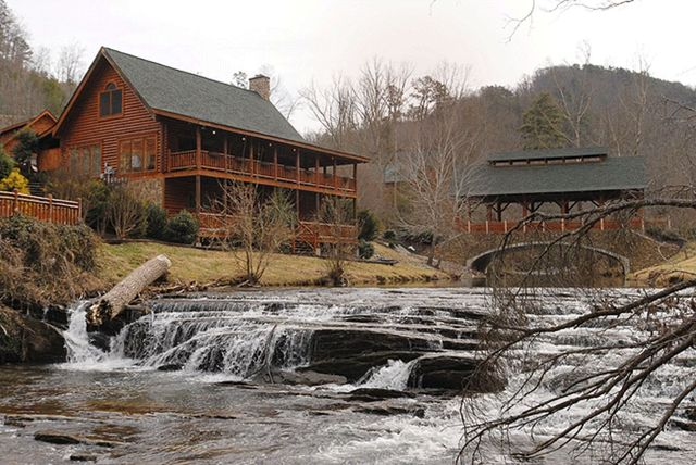 Pigeon Forge Vacation Rentals Cabin Granny 39 S Creekside