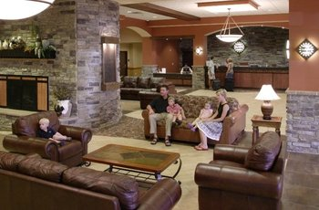 Lobby area at Chula Vista Resort.