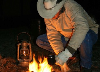 Camping trips at Shoshone Lodge & Guest Ranch.