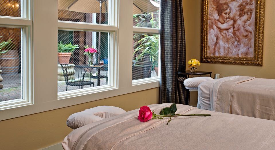 The spa at Applewood Inn, Restaurant and Spa.