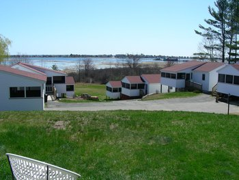 Exterior view of Belle of Maine Vacation Village.