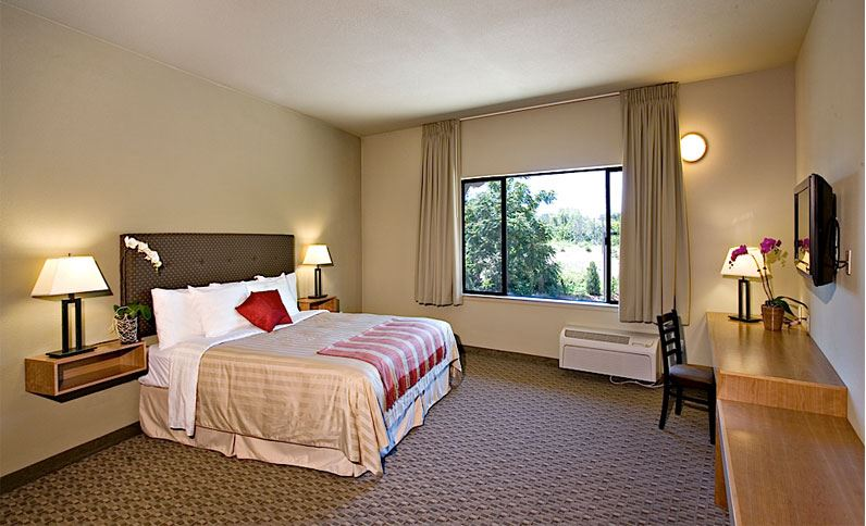Guest Room at Gaia Hotel and Spa Redding