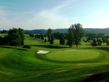 Golf greens at Lenape Heights Golf Resort.