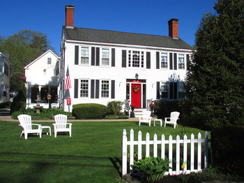 Exterior view of Holiday Guest House.