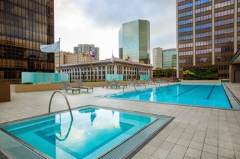Outdoor pool at The Westgate Hotel.