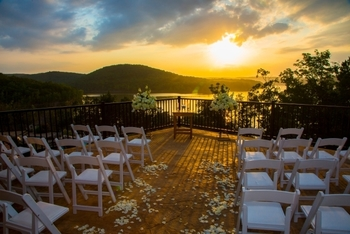 Weddings at Stonewater Cove Resort.