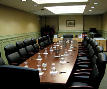 Meeting room at The Shawnee Inn and Golf Resort.