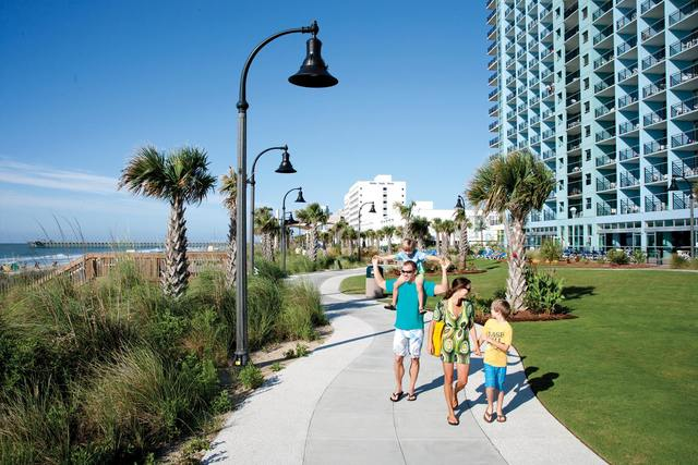 Family at Bay View Resort.