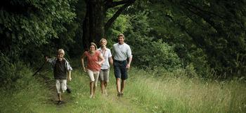 Family Hiking at The Inns at Equinox
