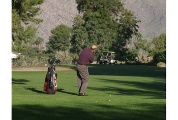 Golf course at Smoke Tree Ranch.