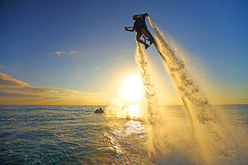 Water Jetpack at TradeWinds Island Grand