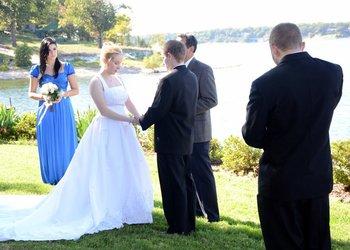 Wedding ceremony at Dream Catcher Point Resort.