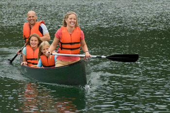 Canoeing at Smugglers' Notch Resort