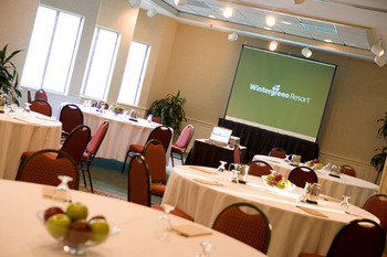 Meeting event at Wintergreen Resort.