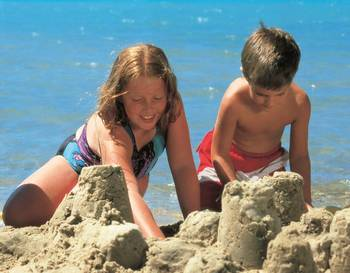 Beach Activities at White Birch Lodge