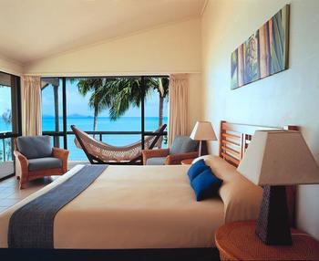 Guest room at Brampton Island.
