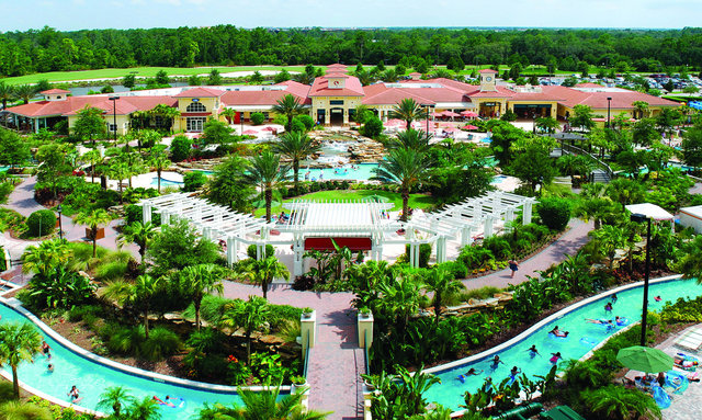 Aerial view of Holiday Inn Club Vacations at Orange Lake Resort.