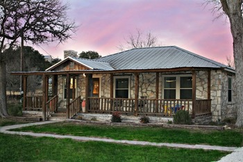 Rental exterior at SkyRun Vacation Rentals - Texas Hill Country.