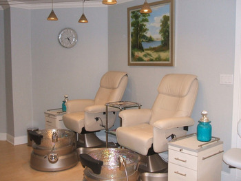 Spa Pedicure at Saybrook Point Inn