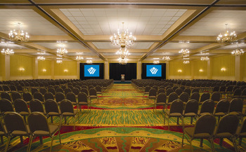 Conference room at Wyndham Lake Buena Vista Resort.