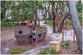 Kid's playground at Villas by the Sea Resort & Conference Center.