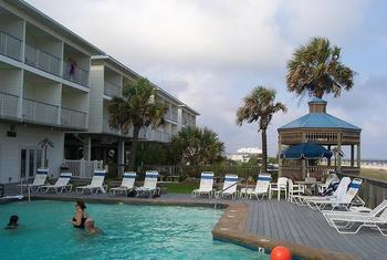 Pool View at Ocean Isle Inn