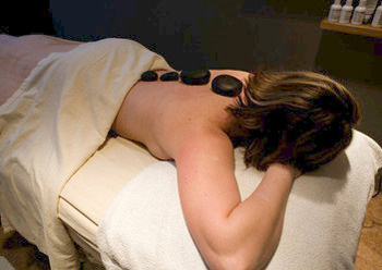 Hot stone massage at Ascend Hotel Collection-The Woodlands Inn.