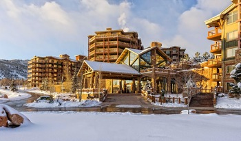 Exterior view of Westgate Park City Resort & Spa.