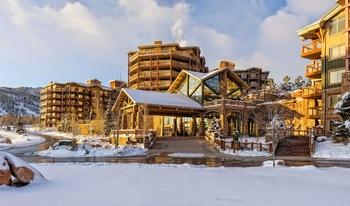 Exterior view of Westgate Park City Resort & Spa.